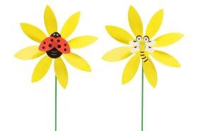 """Vėjo malūnėlis kurmiams baidyti """"Gėlė"""""""