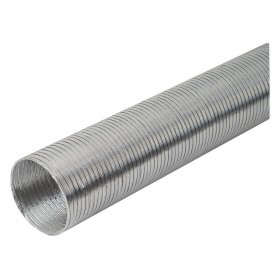 Ortakis EUROPLAST, d125, 3 m, gofruoto aliuminio, G125
