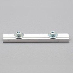 Sujungimas metalinis aliuminio profiliui, metalo sp., Nr. 8181