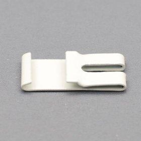 Tvirtinimo laikiklis, metalinis, aliuminio profiliui, baltos sp., 1 pak./4 vnt., Nr. TK 11095