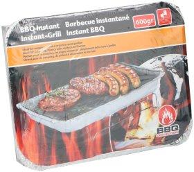 Vienkartinė kepsninė BBQ, 600 g.