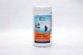 Lėto tirpimo chloras Chemoclor T- tabletės (200 g.), 1 kg.