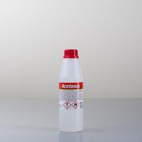 Acetonas  0,5 l