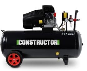 Kompresorius CONSTRUCTOR CTAC8-100, galia 2,2 kW, slėgis 8 bar, 100 l
