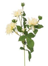 Dirbtinė gėlė jurginas NOVELLY HOME DY1-3210A, baltos sp., aukštis - 73 cm.