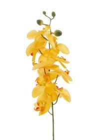 Dirbtinė gėlė orchidėja NOVELLY HOME FS-3343/BO/G,  geltonos sp., aukštis - 89 cm.