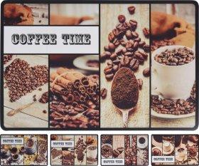 Stalo padėkliukas COFFEE TIME, 43,5 x 28,5 cm., 4 skirtingi dizainai