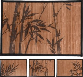Stalo padėkliukas BAMBUKAS, 30 x 45 cm., 3 dizainai