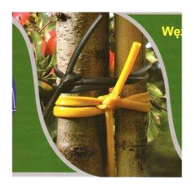 Medelių pririšimo raištis, 35 cm x 4 mm, 5 vnt.