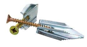 Įkalamas GKP kaištis 16 x 43 mm su medsraigčiu 4,5 x 45 mm LAMIDA, 10 vnt.