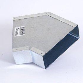 Ventiliacijos fasoninė detalė, 5F15/45, cinkuota