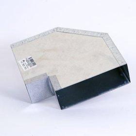 Ventiliacijos fasoninė detalė, 5F15/90, cinkuota