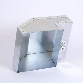 Ventiliacijos išėjimas, 5G15-15x15, cinkuotas