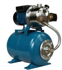 Vandens tiekimo sistema IBO AJ 50/60, našumas 60 l/min., kėlimo aukštis 50 m, įsiurbimo gylis 8 m, galia 1100W, 24L, 063858