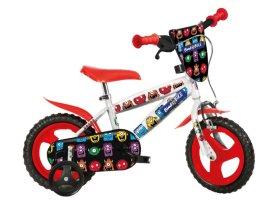 """Vaikiškas dviratis MTB BOY MONSTERS, su pagalbiniais ratukais, dydis 12"""""""