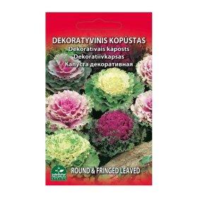 Sėklos gėlių, kopūstas, dekoratyvinis (02-07mėn), N