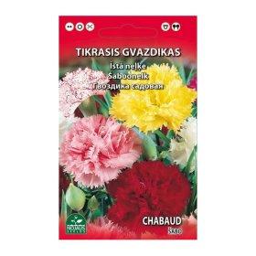Sėklos gėlių, gvazdikas ŠABO mišinys   (02-07mėn), 0,2 g.