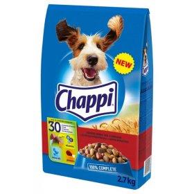 Sausas ėdalas šunims CHAPPI 2,7 kg Su jautiena ir paukštiena,