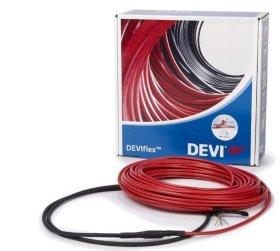 Grindų šildymo kabelis DEVIFLEX DTIP-18T, ilgis 7,3 m, galia 130 W, 140F1235
