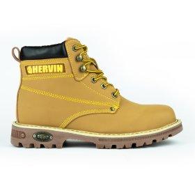 """Rudi odiniai auliukiniai batai """"HERVIN"""" su pirštų ir pado apsauga, 46 dydis, OB047, S1P"""