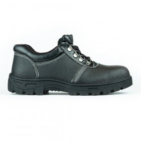 Darbo batai be auliuko PUB001, 43 dydis, su pirštų ir pado apsauga, juoda sp.