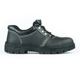 Darbo batai be auliuko PUB001, 44 dydis, su pirštų ir pado apsauga, juoda sp.