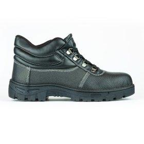 Darbo batai su auliuku PUB007 , 45 dydis, su pirštų ir pado apsauga, juoda sp.