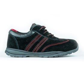 Darbo batai be auliuko HERVIN OB007, 42 dydis, su pirštų ir pado apsauga, zomšiniai