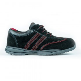 Darbo batai be auliuko HERVIN OB007, 43 dydis, su pirštų ir pado apsauga, zomšiniai
