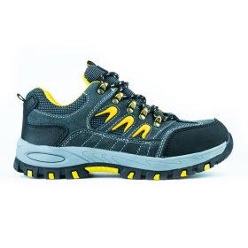 Darbo batai be auliuko HERVIN OB013, 46 dydis, su pirštų ir pado apsauga, zomšiniai