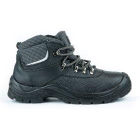 Darbo batai su auliuku HERVIN OB019, 46 dydis,  su pirštų ir pado apsauga, su šv.atspindinčia juostele
