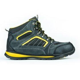 Darbo batai su auliuku HERVIN OB026, 42 dydis, su pirštų ir pado apsauga, zomšiniai