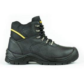 Darbo batai su auliuku HERVIN OB031, 43 dydis, su pirštų ir pado apsauga, odiniai