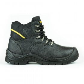 Darbo batai su auliuku HERVIN OB031, 46 dydis, su pirštų ir pado apsauga, odiniai