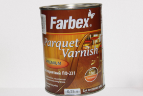 Parketinis lakas FARBEX PF-231, 0,75 l