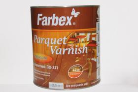Parketinis lakas FARBEX PF-231, 2,5 l