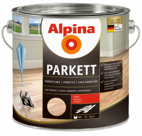 Alkidinis lakas ALPINA PARKETTLACK, 5 l