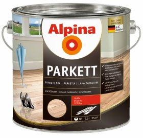 Alkidinis lakas ALPINA PARKETTLACK GLANZEND, 2,5 l