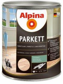 Alkidinis lakas ALPINA PARKETTLACK, 0,75 l