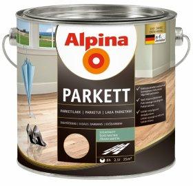 Alkidinis parketo lakas ALPINA PARKETTLACK SEIDENMATT, 2,5 l