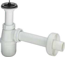 Sifonas praustuvui VIEGA 1'1/4 x 32 mm, butelinis, su ventiliu, kilmės šalis Vokietija