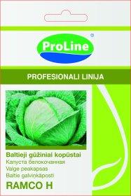 Sėklos daržovių, baltagūžiai kopūstai PROLINE RAMCO F1