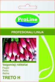 Sėklos daržovių, ridikėliai PROLINE TRETO F1