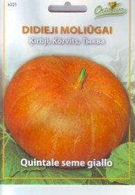 Sėklos, didieji moliūgai HORTUS QUITALE SEME GIALLO