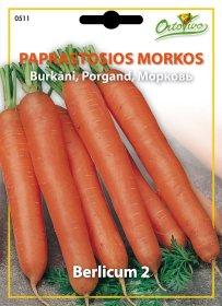 Sėklos, paprastosios morkos HORTUS BERLICUM 2