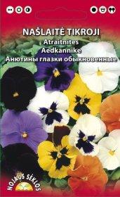 Sėklos gėlių, našlaitė, tikroji, mišinys (02-07mėn)