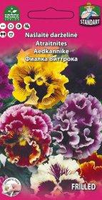 Sėklos gėlių, našlaitė garbanuota   (02-07mėn)0,2 g.