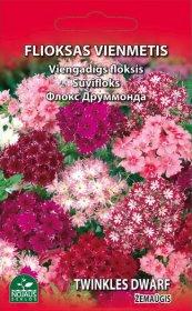 Sėklos gėlių, žemasis flioksas   0,3 g, 02-07 mėn