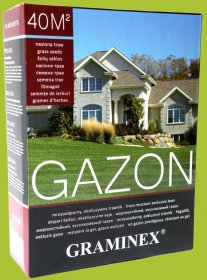 Žolių sėklų mišinys GRAMINEX GAZON 4 kg.
