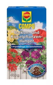Trąšos COMPO  balkoniniams augalams ilgo veikimo, 400 g